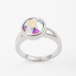 Swarovski Crystal Aurore Boreale Ring
